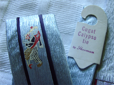 Cugat Calypso Tie Detail