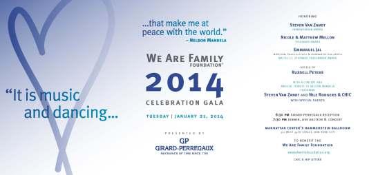 WAFF GALA INVITE 2014